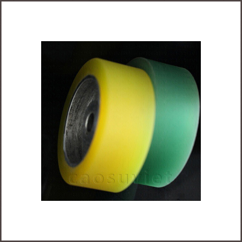 Recovering PU forklift wheels